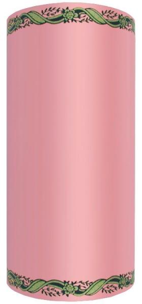 Schleifenband SUPER-SATIN, zweifarbiger Randdruck
