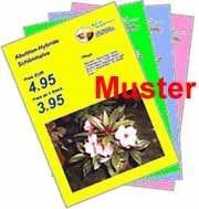 Maxi-Plakate Folien A4 - farbig, 120 µ