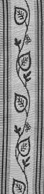 Florband 563, Ginko weiß