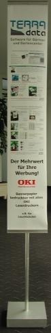 OKI Bannerhalter A4